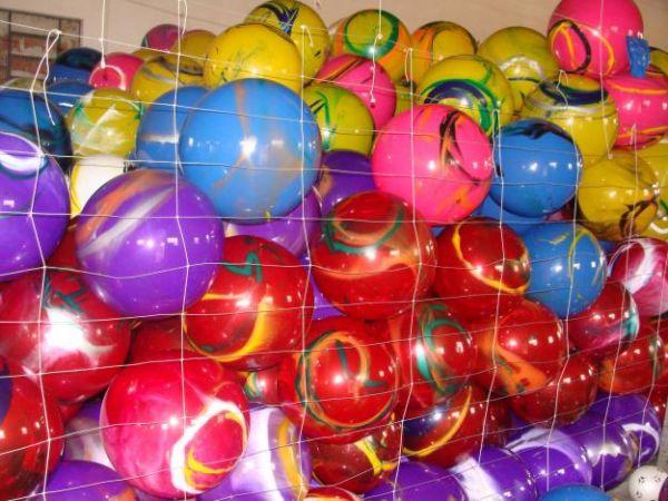 Bolas de vinil de futebol entre outras eventos para festa for Bolas para piscina de bolas